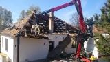 FOTO 2 Kabina - bourání krovu